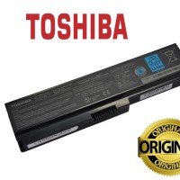 BATERAI batere battery LAPTOP TOSHIBA L630 - L635 PA3817U - 1BRS ORI
