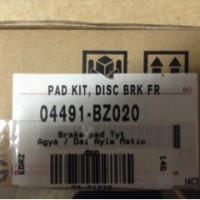 Brake Pad - Kampas Rem Depan Datsun GO 04491-BZ020  18661