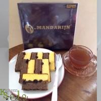 Kue Lapis Mandarin Solo Orion Spesial Kismis Kecil-Roti Mandarijn Asli