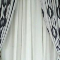 gorden | vitras | vitrase | vitrage polos bahan VOILE