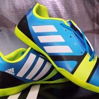 Sepatu Futsal Adidas Nitrocharge Biru Hijau
