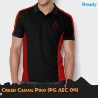 KAOS POLO GAME ASSASIN CREED CASUAL POLO (PG ASC 04)