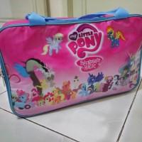 Tas Travel Traveling Bag Koper Karakter Anak Little Pony