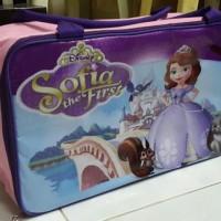 Tas Travel Traveling Bag Koper Karakter Anak Sofia the First