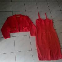 Laros Mini Dress Baju Antik Jadul 80an
