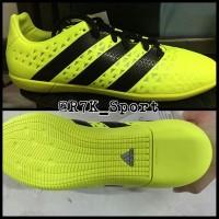 Sepatu Futsal Adidas Ace 16.3 In Original 100% Yellow New Model 2016
