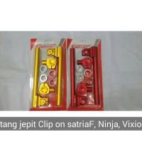 Stang jepit Clip on Satria F, sonic ,cb 150R, Cbr150, ninja 150