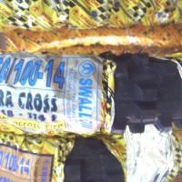 BAN MOTOR CROSS MINI /TRAIL MINI Ukuran 60/100-14 merk SWALLOW