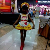 Fashion Show anak Baju Koki Sheff Profesi Kostum kuning