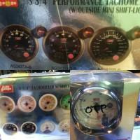 Tachometer autogauge for diesel car