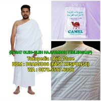 SUPER QUALITY !! Kain Ihrom/Ihram Camel Pakaian/Baju Haji & Umroh Pria