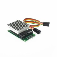 Dot Matrix Module 8x8 Led MAX7219 DIP for Arduino + Library
