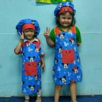 Celemek Anak Set Topi Koki (CA02)
