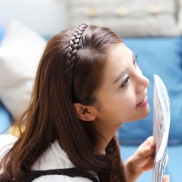 bando kepang rambut palsu hairband korea jepang murah grosir karet new