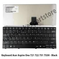 Keyboard Acer Aspire One 721 722 751 753H - Black
