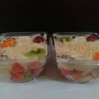 Cup Salad Buah/Puding (Mika Mangkok)