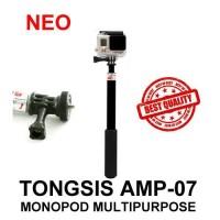 Promo!! Tongsis Neo Titanium Amp-07 Seperti Monopod Attanta Smp-07