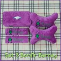 Bantal Mobil 3 in 1 Bordir Barney