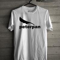 Kaos/T-shirt Musik Logo Peterpan lama Murah