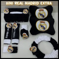 6 In 1 Bantal Mobil Real Madrid Extra