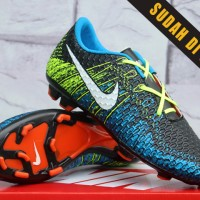 Sepatu Bola/Soccer/sport/adidas/Nike Mercurial Superfly Hitam biru GO