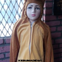 Beruang TK-120cm , Baju Karnaval Anak Kostum Karakter Binatang