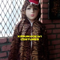 Harimau TK-120cm, Baju Karnaval Anak Kostum Karakter Binatang