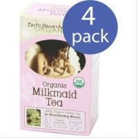 Bundle pack 4 box Earth Mama Angel Baby Organic Milkmaid Tea