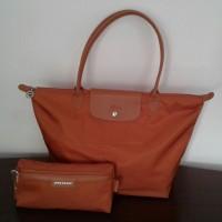 Longchamp neo shopper tote bag