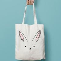 Tote Bag - Kanvas Bag Bunny