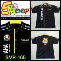 Shirt /Kemeja Motogp Valentino Rossi Yamaha Dainese