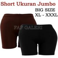 Celana Short Wanita - Ukuran Jumbo ( BIG SIZE ) - Celana Pendek