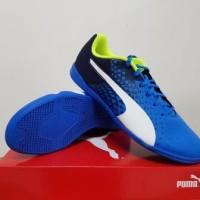Sepatu Futsal Puma evoSpeed Sala Graphic Bpeacoat 103778-02 original