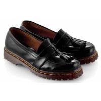 Sepatu Docmart Wanita Cewek Dokmar Casual EW292 Hitam