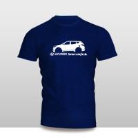 Kaos Baju Pakaian MOBIL Hyundai Santa Fe SILUET murah