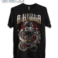 Kaos ASKING ALEXANDRIA Poster 3 GILDAN Tshirt