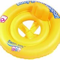Ban Renang Bayi Bulat Bestway/ Double Ring Baby Car Seat 32027