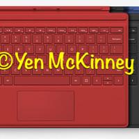 OPEN BOX UNIT U.S.A !!!! Microsoft Surface Pro 4 Keyboard check warna
