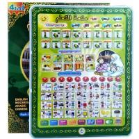Mainan Edukasi Playpad Muslim 4 Bahasa