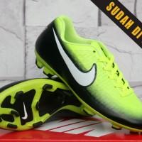 Sepatu Bola /Soccer Nike Magista Opus Euro Hitam Hijau (sport,olahraga