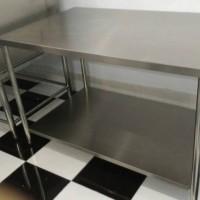 Meja Stainless Murah Berkualitas - Putih