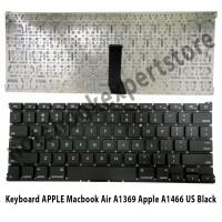 Keyboard APPLE Macbook Air Apple A1369 Apple A1466 Us black