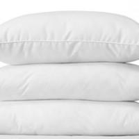 Bantal tidur yg empuk dengan isian dakron akan membuat tidur anda lela