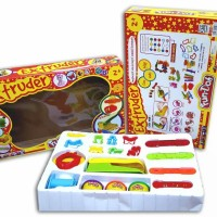 Playdough - Fun Doh Extruder - Play Dough - Lilin Mainan