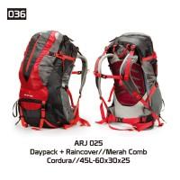 tas ransel murah , tas gunung murah, tas daypack 45liter+raincover 025