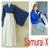 yukata kimono samurai x baju tradisional / adat jepang kenshin