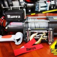 Runva Electric Winch EWP-4500 Kapasitas 2 Ton Untuk Di Motor ATV