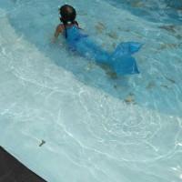 Baju Renang Putri Duyung Usia( 10-12 th ), Mermaid Swimsuit