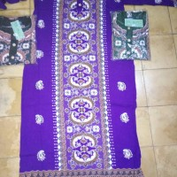 daster Muslim canting baju tidur gamis santai longdress batik
