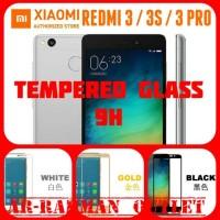 XIAOMI REDMI 3 / REDMI3 PRO / 3S ANTI GORES WARNA TEMPERED GLASS COLOR